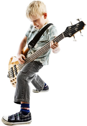 Kid Rockin' on Bass